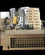 Final design model, Ray and Maria Stata Center Massachusetts Institute of Technology, photo Wit Preston