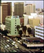 Aerial view of Harare