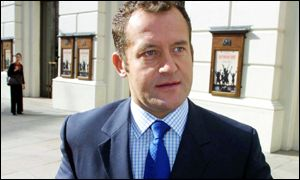 Paul Burrell outside Bow Street magistrates court