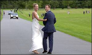 Elizabeth Murdoch and Matthew Freud