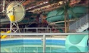 Bbc News Scotland All Clear At Gas Leak Pool