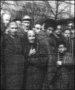 [ image: Jews at Auschwitz concentration camp]