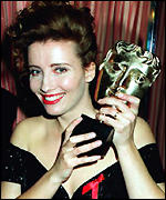 [ image: Emma Thompson, one of the first winners of a Perrier Award]