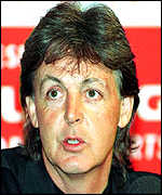 [ image: Sir Paul McCartney: Taking first holiday since his wife's death]