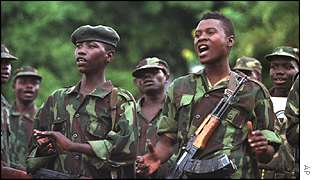 DR Congo rebel soldiers