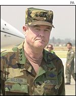 US Army General Joseph Ralston,