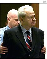 Milosevic at Hague