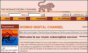 Womad digital channel