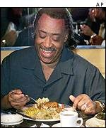 al sharpton eating