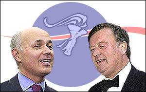 Iain Duncan Smith and Ken Clarke