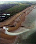 Sewage enters sea BBC