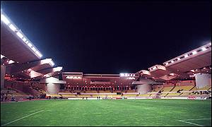 The modern  Stade Louis II stadium was opened in 1985