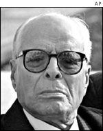 Habib Bourguiba, ousted as president in 1987