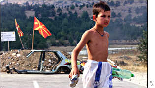 Macedonian boy