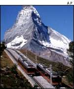 Matterhorn and funicular AP