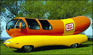 Oscar Mayer's newest WienerMobile
