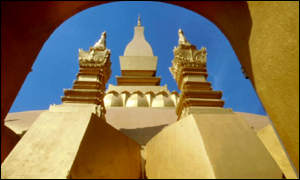 That Luang - the national symbol of Laos