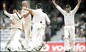 Shane Warne was the hero for Australia