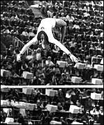 Olga Korbut's performance