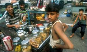 Calcutta tea seller