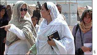 Angelina Jolie in Pakistan