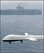 Unmanned US spy plane
