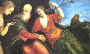 Jacopo Tintoretto's Lot and his Daughter