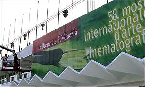 Workers at Venice film festival