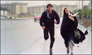 Scene from a film by Iranian female director Rakhsan Bani Etemad