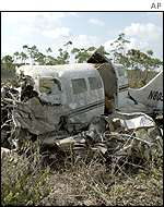 Crashed Cessna