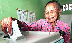 East Timorese voter