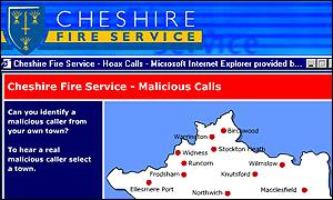 Cheshire Fire Service Website
