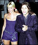 Jay Kay with ex-fianc�e Denise van Outen
