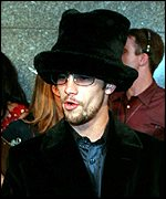 Jay Kay wearing one of his many hats