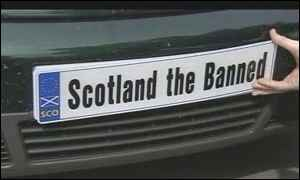 Scotland the banned