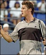 Marat Safin is on course to retain his title