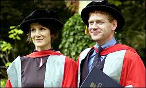 Harriet Walter with Kenneth Branagh