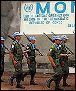 Monuc soldiers in DR Congo