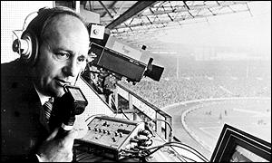 Brian Moore commentates