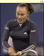 World number one Martina Hingis