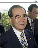 South Korean Unification Minister Lim Dong-won