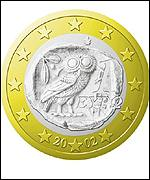 New Greek euro coin