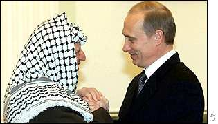 Yasser Arafat and