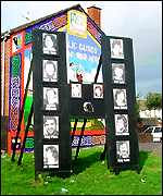 A Hunger Striker memorial