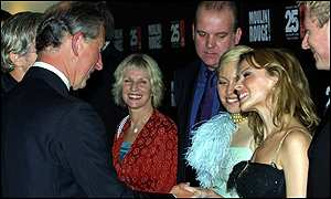 The Prince of Wales meets Kylie Minogue