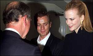 Nicole Kidman and the Prince of Wales