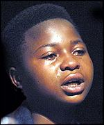 Lorraine Nesane, 15, of South Africa, was the victim of racist abuse by a white shopkeeper