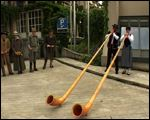 Alp-horn players