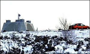 RAF Fylingdales early warning station, North Yorkshire Moors