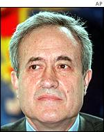 Jean Tiberi, who succeeded Mr Chirac as mayor of Paris